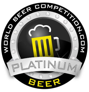 World Beer Competition - Platinum Award
