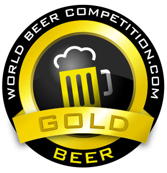 World Beer Competition - Gold Award
