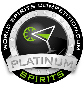 World Spirits Competition - Platinum Award