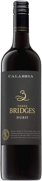 Calabria Bros. 2013 Durif, 3 Bridges