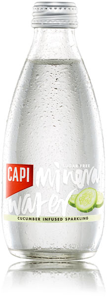 Capi Cucumber Infused Sparkling Mineral Water
