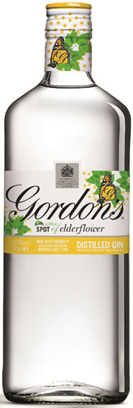 Gordons Elderflower Distilled Gin