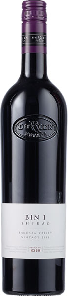 Dorrien Estate 2014 Shiraz, Bin 1