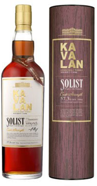 Kavalan Solist Sherry Cask Single Malt Whiskey, Single Cask Strength