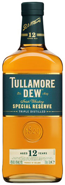 Tullamore D.E.W. 12 Year Old Special Resere Irish Whiskey
